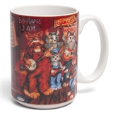 Bluegrass Cats Mug