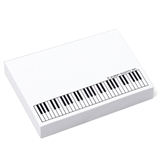 Keyboard Sticky Note Pad, 100 sheets