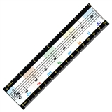 Music Staff Magnetic Ruler