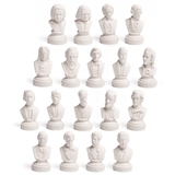 Small Composer Busts Set