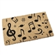 Music Notes Doormat