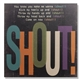 Shout Lyrics Wall Art