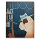 Bulldog Jazz Bar Wall Canvas