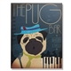 The Pug Bar Wall Canvas