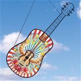 Sunburst Guitar Suncatcher