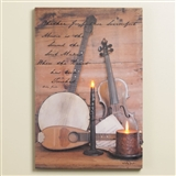 Sound of the Soul Lighted Canvas