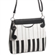 Piano Keys A-Line Purse