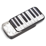 Piano Keys Slide Tin with Peppermints