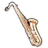 Cut-Out Saxophone Magnet