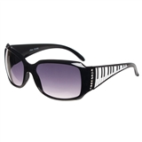 Piano Keys and Crystals Sunglasses