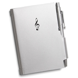 Treble Clef Notepad & Pen