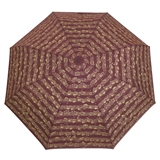 Compact Bordeaux Umbrella
