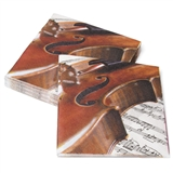 Violin Beverage Napkins