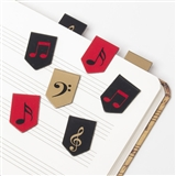 Notes & Clefs Magnetic Bookmarks