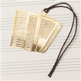 Laser-Cut Accordion Bookmark
