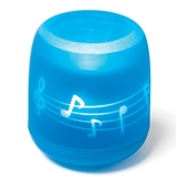 Music Notes Magic Flame Candle