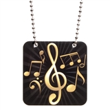 Music Mega Tag Necklace