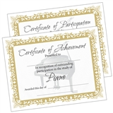 Piano Certificates, Set of 10
