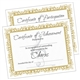 Chorus Certificates, Set of 10