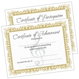 Music Certificates, Set of 10