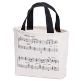 Music Notes Cloth Gift Bag