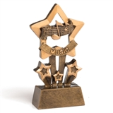 Music Star Mini Trophy