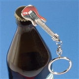 Guitar Keychain Bottle Opener
