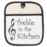 Music Phrase Pot Holder