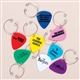 Guitar Pick Wine Charms