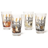 Fender Stratocaster Pint Glasses