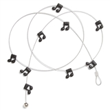 Music Notes Magnet Cable Display