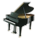Cut-Out Grand Piano Magnet