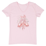 Rhinestones 'Dance With Me' Women's T-Shirt