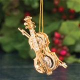 Violin 24kt Gold-Plated Ornament