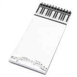 Piano Keys Magnetic Notepad