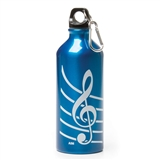 Blue G-Clef Water Bottle