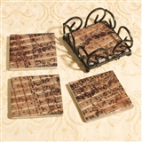 Bach Mass in B-Minor Tile Coasters