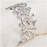 G-Clef Links Stretch Bracelet