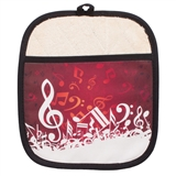 Music Wave Pot Holder