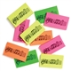 Pack of Ten Music Erasers