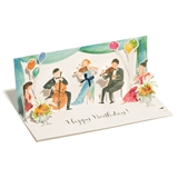 Classical Quintet Pop-Up Birthday Card With Sound