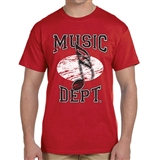 Music Dept. Music Note T- Shirt