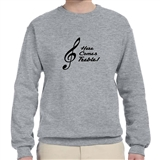 Here Comes Treble Sweatshirt