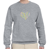 Musical Heart Sweatshirt