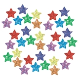 Colorful Stars Sparkle Stickers