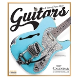 Guitars 2017 Wall Calendar