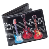 Guitars Galore Folding Wallet