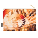 Golden G-Clef Zipper Pouch
