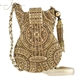 Mary Frances 'Golden Tour' Guitar Handbag