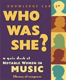 Who Was She Notable Women in Music Quiz Cards